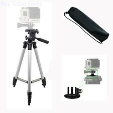 Aluminum Camera Tripod For All GoPro Hero Cameras, Bubble Level New