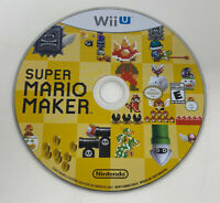 Super Mario Maker (Nintendo Wii U, 2015) Disc Only Tested Working