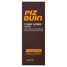 Piz Buin 1 jour Long Lotion Solaire SPF 15 100ml