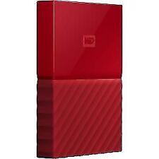Western digital - My Passport 2tb 3.0 (3.1 gen 1) 2000gb rojo