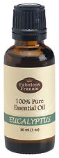 EUCALYPTUS 30ml 100% Pure Grade Essential Oil BUY 3 GET 1 FREE Fabulous Frannie