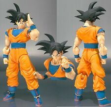 Dragon Ball Z Son Goku Super Saiyan 3 Kakarotto 15cm SHF Action Figure NoBox NEW