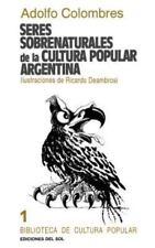 Seres Sobrenaturales de la Cultura Popular Argentina (Paperback or Softback)