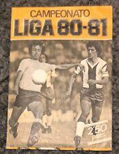 CROMOS CAMPEONATO LIGA 80-81EDICIONES ESTE BARCELONA 2,50 PESETAS SIN ABRIR
