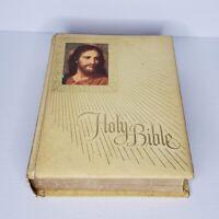 Holy Bible Catholic New American Bible Large 1971-72 Fireside Edition