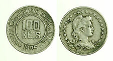 pcc1247_12) BRASILE BRAZIL   100 REIS 1925 COPPER-NICKEL