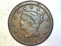 1851 Large Cent  Very Nice Coin 824