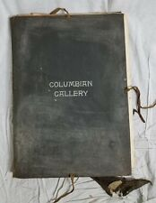 Columbian Gallery Collection Photographs Antique Book Haskell Publishing 1893
