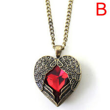 Women Vintage Long Sweater Chain Crystal Pendant Costume Jewelry Necklace