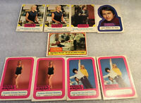 """Vintage Lot of 9 """"THREE'S COMPANY"""" 1978 Collector Trading Cards"""