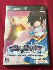 NEW PS2 TALES OF DESTINY DIRECTOR'S CUT NTSC-J namco 2008 PlayStation FREE POST