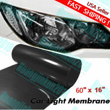 Car Headlight Tint Film Taillight Vinyl Wrap Fog Light Dark Black 30cm x 100cm