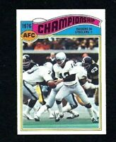 NMT 1977 Topps #526 AFC Championship.