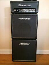 Blackstar HT-5 guitar tube amp and 2   HT110  speaker cabs Full Stack Excellent