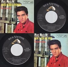 """(VG++/EX) Elvis Presley """"Hard Headed Woman /Don't Ask My Why""""RCA 47-7280 1958"""