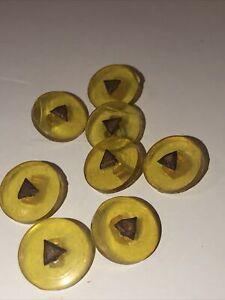 Butter scotch Vintage Plastic Button Lot Estate Sale Treasures