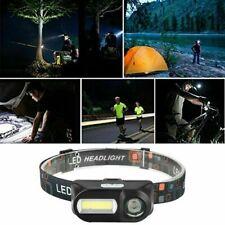 USB Rechargeable Headlamp XPE COB Waterproof Head Torch LED Headlight  Fishing