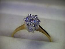 Damenring in Gold 585 Solitär Brillant 1,00 ct w/if