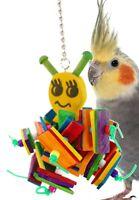 1447 Chew Bee Bonka Bird Toys parrot cage toy african grey cockatoo amazon pet