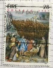 EIRE/Ireland stamps - Scene from the Bible Christmas 1987 28 pence