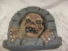 VERRARE VINTAGE TALES FROM THE CRYPT CRYPT KEEPER FOAM WALL HANG DISPLAY PROP
