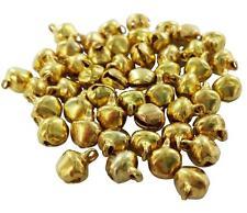 lot de 50 grelots clochettes Or doré breloques scrapbooking 8,5x6