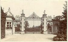 REAL PHOTOGRAPHIC POSTCARD THE GATES, BOSTON HOUSE, BRENTFORD, LONDON, MIDDLESEX