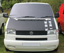 VW T4 Grey Window Front Screen Cover Curtain Wrap Frost Windscreen Blind