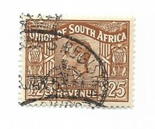 South Africa £25 Revenue Stamp. CDS Used.