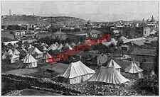 Krikorian Kaiser Wilhelm II. Palästinareise Adel Zeltlager Jerusalem Orient 1898