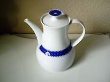 "Kaffeekanne "" Rotunda "" mit Kobaltbordüre v.Thomas Porz. ,nie Gebraucht, Neuw."