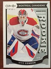 2015-16 UD Hockey Series 2 Mike Condon #U26 Marquee RC O-Pee-Chee Pack Fresh