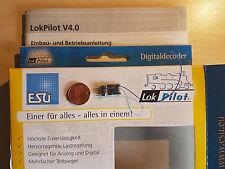 ESU 54685 LokPilot Micro Decoder V4 DCC Stecker 6pol. NEU OVP