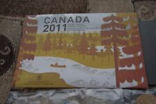 Canada 2011 Special Edition Uncirculated 25¢ Set - Parks Canada