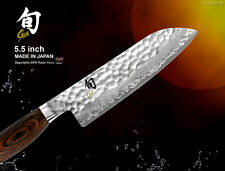 Shun Premier Damascus Santoku 5.5 inch Vegetable Knife Cutlery Japanese Cookware
