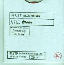 (CX700) Race Horses, Mates - 2012 DJ CD