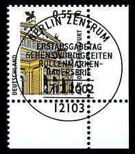 BUND SWK-Euro 0,55 €, Mi. 2300 - Eckrand u.r. mit ESST (Alte Oper Frankfurt)