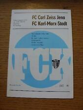 09/05/1987 Karl Marx Stadt v Carl Zeiss Jena  . No obvious faults, unless descri