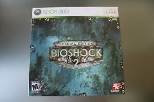 BioShock 2 Special Collector's Edition Xbox 360 2010 Sealed Game Complete Unused