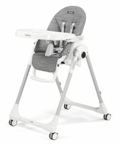 Peg Perego Prima Pappa Follow Me High Chair Wonder Grey