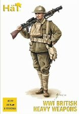 HaT 8177 - WW1 British Heavy Weapons                 1:72 Plastic Figures Model