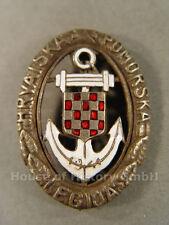 80584: Kroatien, KROATISCHES MARINEFLIEGER LEGIONSABZEICHEN, Hravatska Pomorska