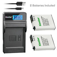Kastar EN-EL12 battery charger for Nikon AW100 AW110 AW110s S8200 S70 S610 S6000
