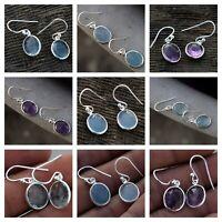 925 Sterling Silver Earring Drop & Dangle Hook Silver Earring Fine Jewelry