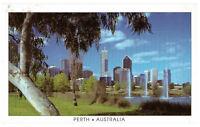 Perth: Lush Parklands of The City, Western Australia, Rare Postcard Posted 1994