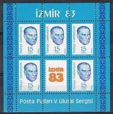 Turkije postfris 1983 MNH block 23 - Izmir 1983 (S0299)