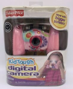 NEW Fisher Price 2007 Kid Tough Pink Digital CameraL8342 FACTORY SEALED
