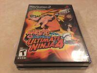 Ultimate Ninja 4: Naruto Shippuden (Sony PlayStation 2, 2009) PS2 NEW