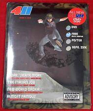 (10) Lot 411Vm Volume 13 Issue 2 - New Sealed Skateboard Dvd Video Magazine