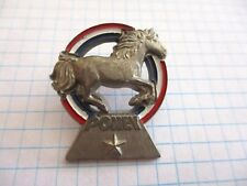HORSE PONY PIN BADGE FFE FEDERATION FRANÇAISE D'EQUITATION VINTAGE PINS 5